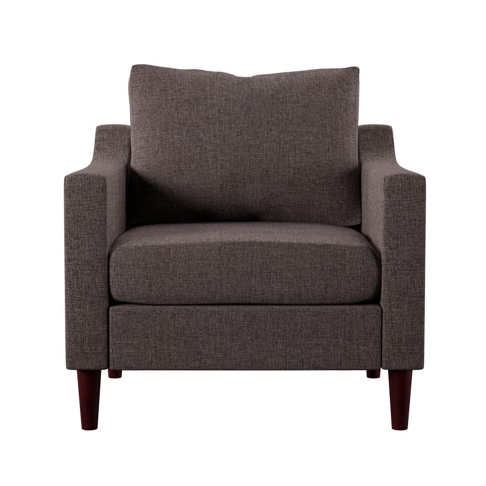 Antonio Brown Upholstered Armchair