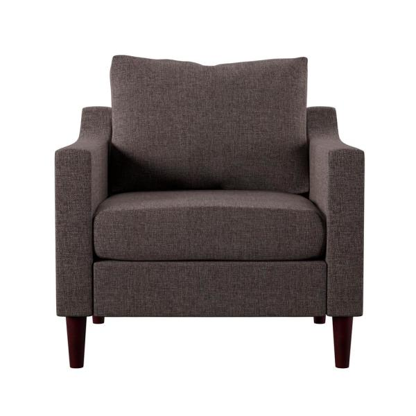 Antonio Brown Upholstered Armchair