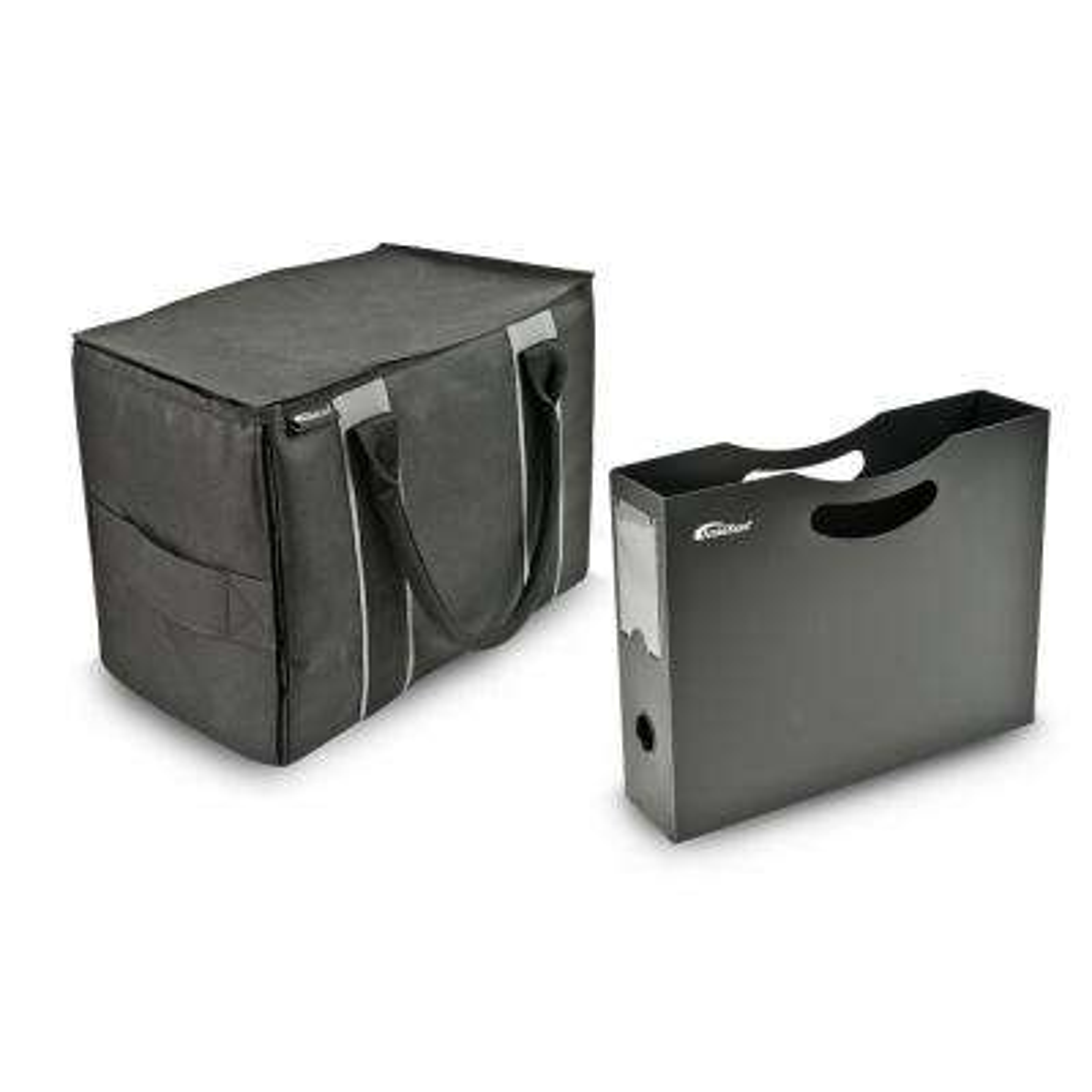 Mini File Tote with File Holder