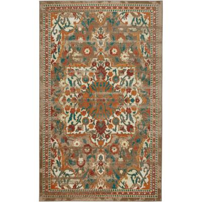 Mohawk Home Malaki Spice 10 ft. x 14 ft. Indoor Area Rug