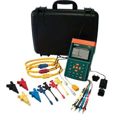 Power Quality Meter with 3000A Flex Clamp and NIST