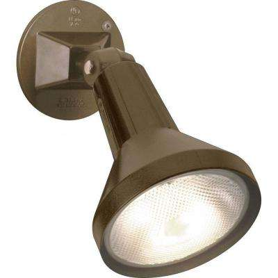 Tony 1-Light Dark Bronze Flood Light