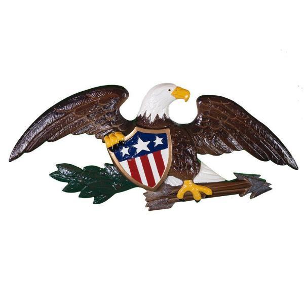 23 in. Deluxe Natural Color Wall Eagle