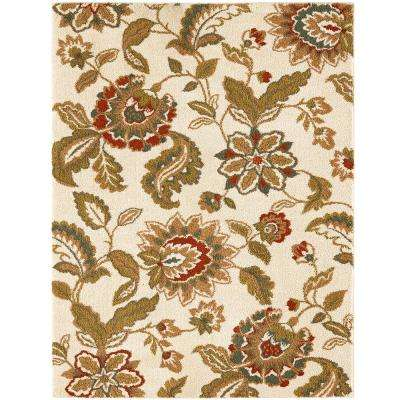Lucy Cream 4 ft. x 6 ft. Area Rug