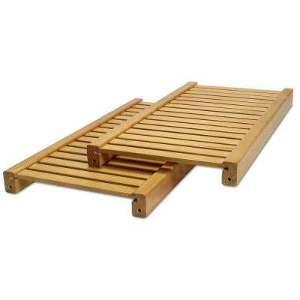12 in. Deep Adjustable Shelf Kit in Honey Maple