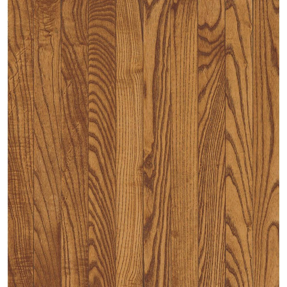 Bruce Take Home Sample Gunstock Ash Solid Hardwood Flooring 5 In