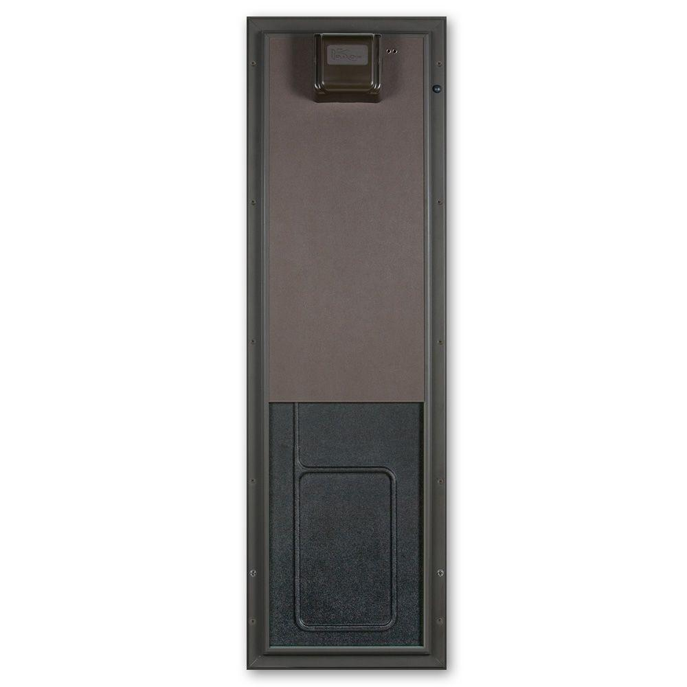12.75 in. x 20 in. Large Bronze Wall Mount Electronic Dog