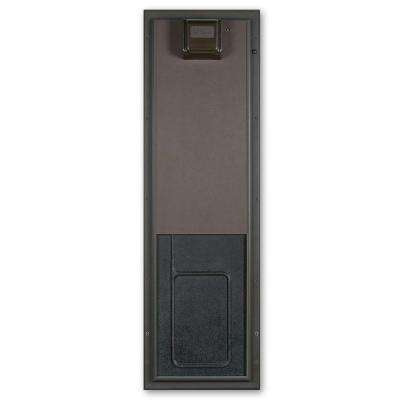 12.75 in. x 20 in. Large Bronze Wall Mount Electronic Dog Door
