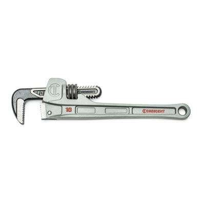 10 in. Aluminum Slim Jaw Pipe Wrench