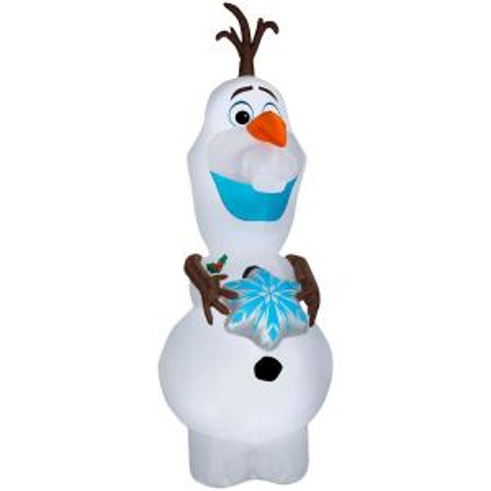 Disney 11 Ft Pre Lit Inflatable Olaf