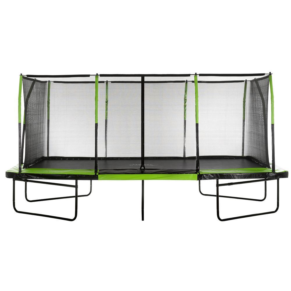 Mega Trampoline 10 ft. x 17 ft. - Fiber Flex Enclosure System