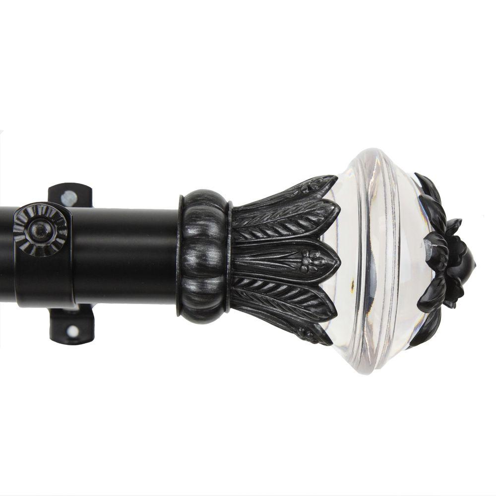 115 in. - 165 in. 1.5 in. O.D. Paradise Curtain Rod