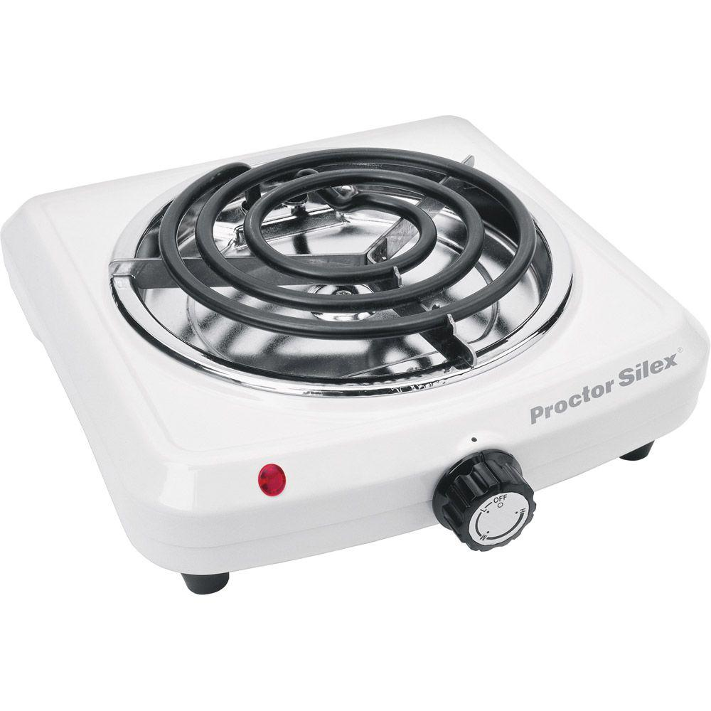 Proctor Silex 10 in. Single Burner-DISCONTINUED