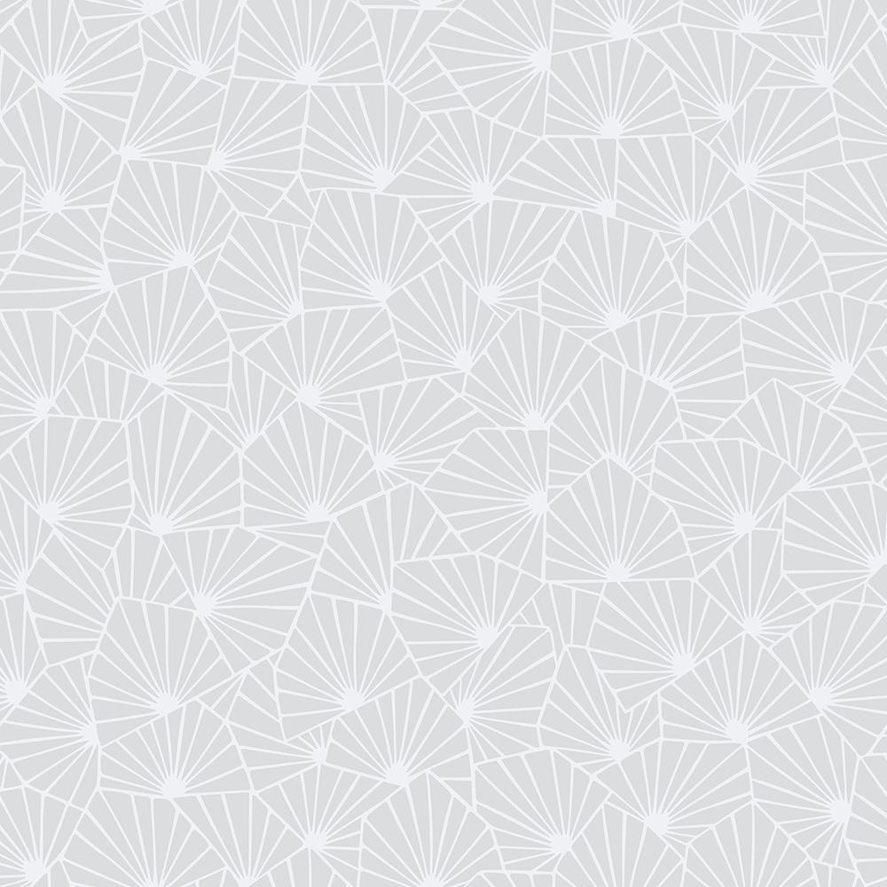 57.8 sq. ft. Blomma Dove Geometric Wallpaper