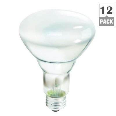 65-Watt Incandescent BR30 Flood Light Bulb (12-Pack per Case)