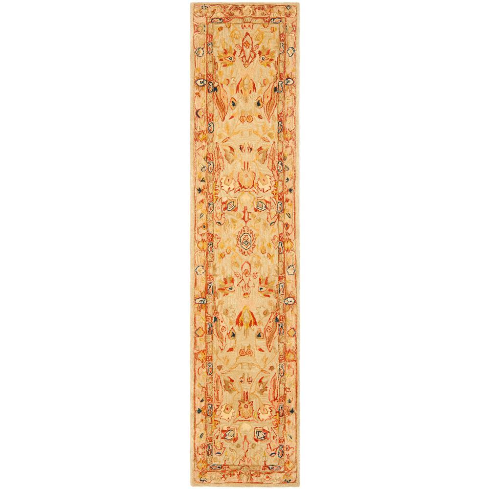 Safavieh Anatolia Ivory/Beige 2 ft. x 10 ft. Runner