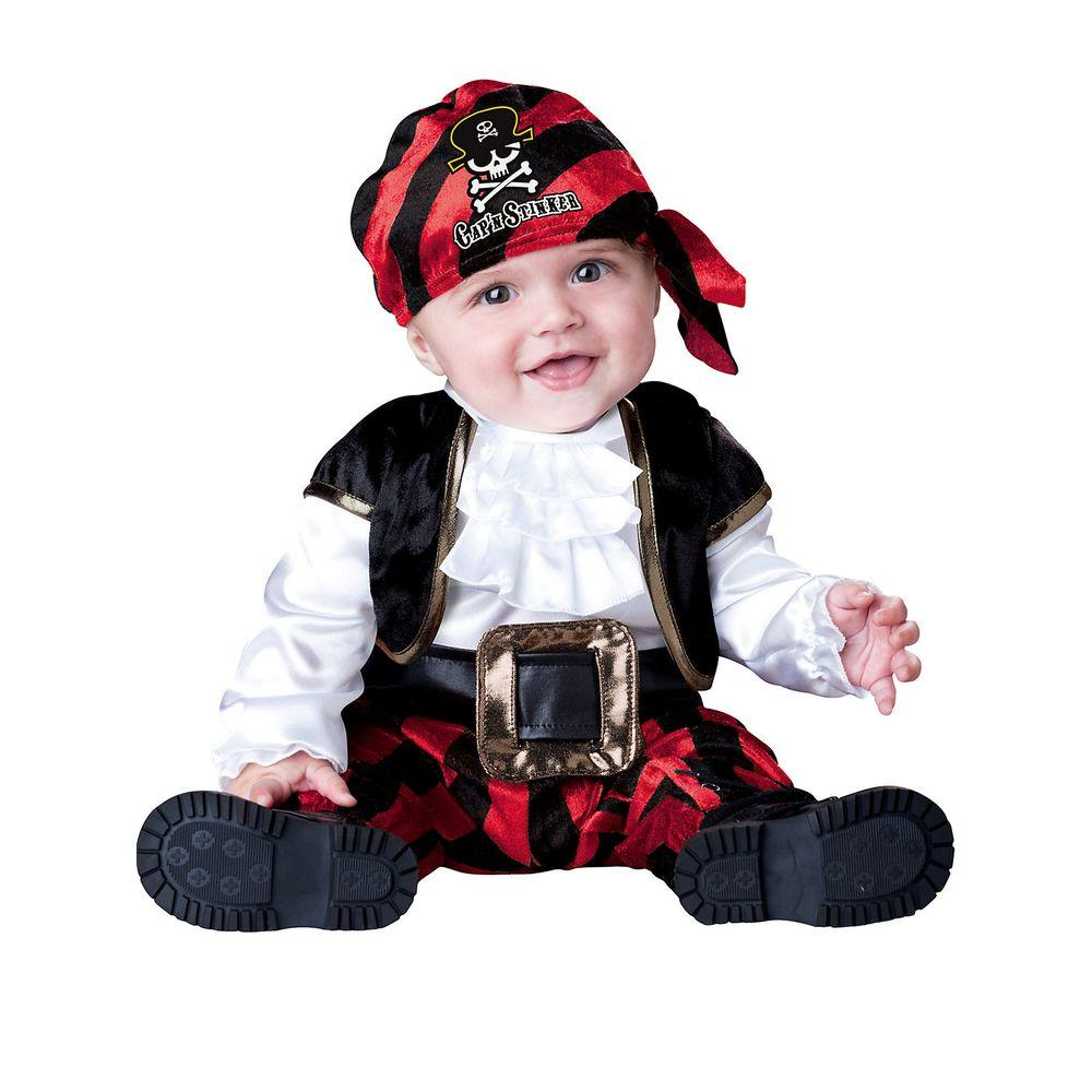 InCharacter Costumes Infant Toddler Captain Stinker Pirate Costume  sc 1 st  The Home Depot : pirate costume from home  - Germanpascual.Com