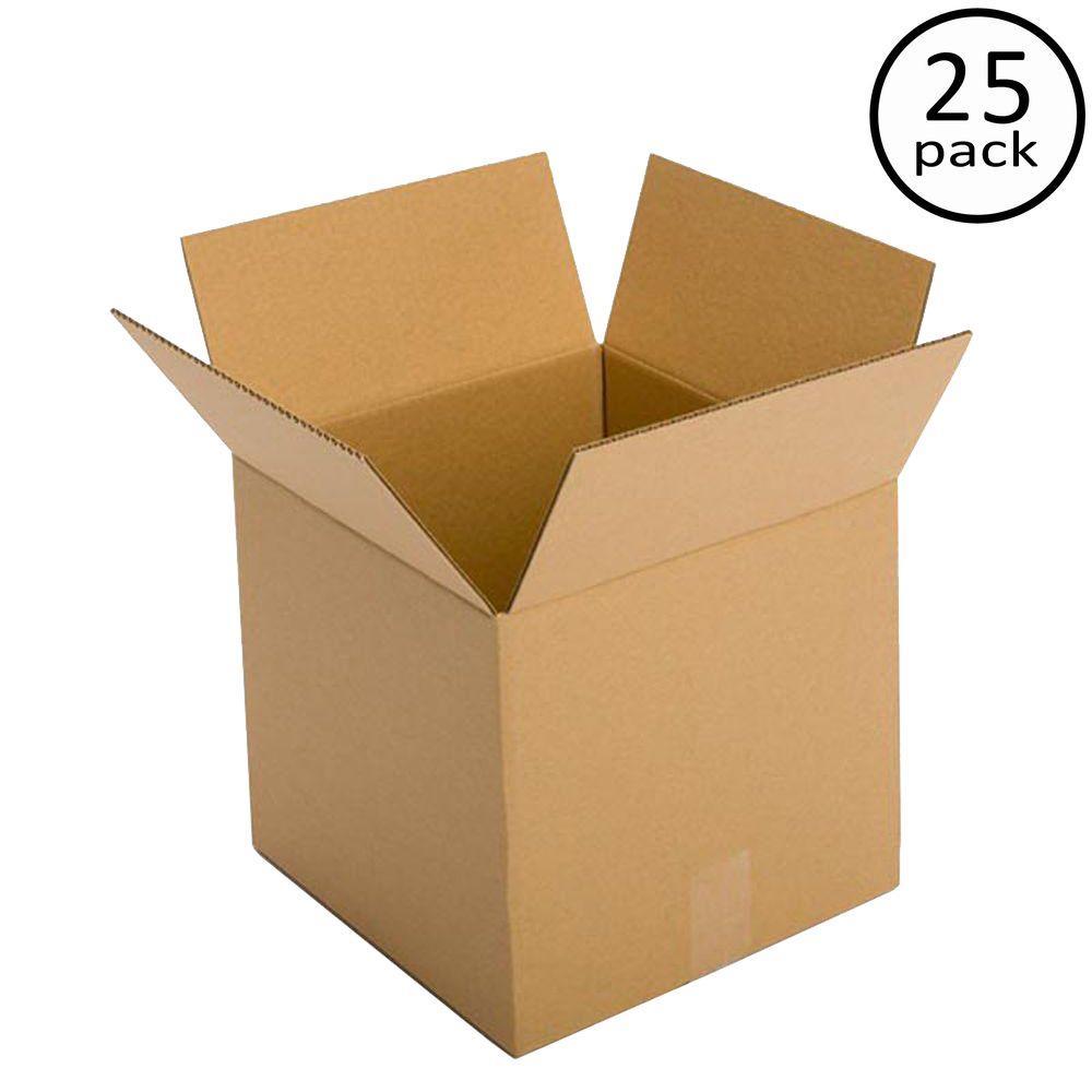 13 in. x 13 in. x 13 in. 25-Box Bundle
