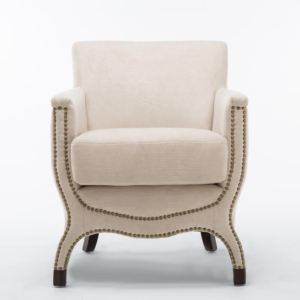 Cream Aristocrat Accent Chair