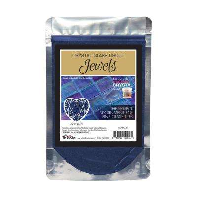 Crystal Glass Jewels Lapis Blue Additive