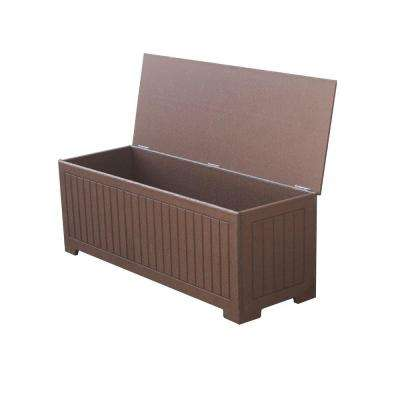 Sydney 36.75 gal. Brown Recycled Plastic Commercial Grade Deck Box