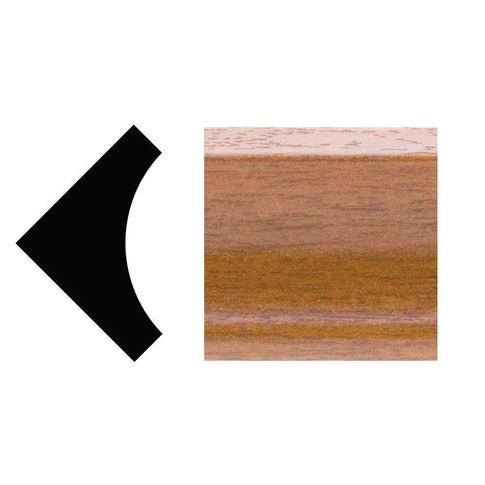 5093 - 3/4 in. x 3/4 in. x 96 in. PVC Inside Corner Moulding