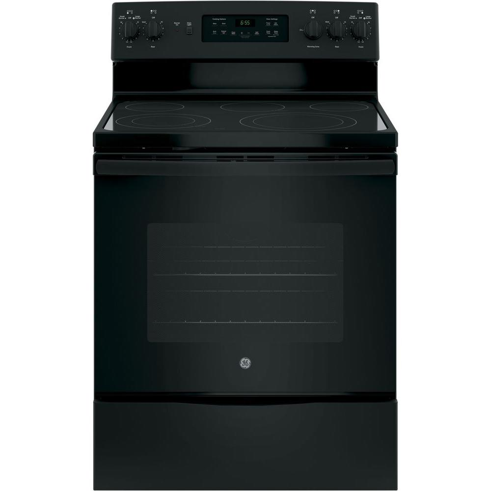30 in. 5.3 cu. ft. Free-Standing Electric Self-Clean Range with Convection