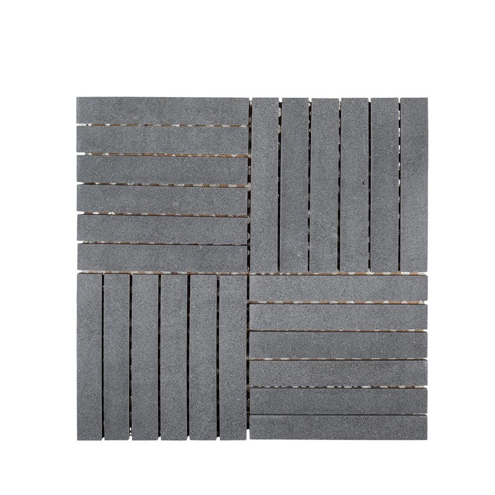 Flooring wall tile kitchen bath tile hudson basalt 11 78 in x 11 78 in dailygadgetfo Gallery