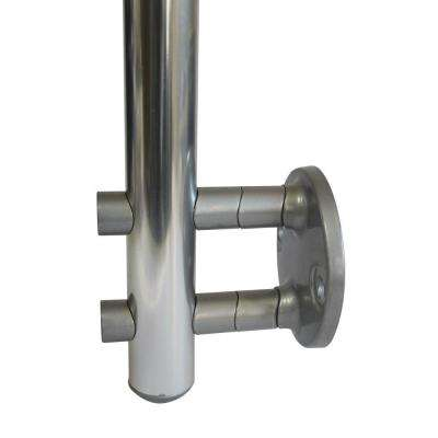 Prova PA13 2-7/8 in. Powder Coated Metal Side Mount Spacer