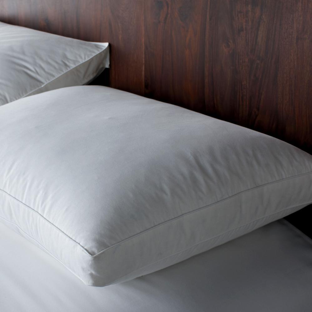 Gusseted Side Sleeper Firm Down Queen Pillow