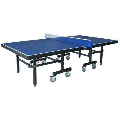 Victory Professional 9 ft. Table Tennis Table with 25mm Thick Surface, 2 in. Steel Supports