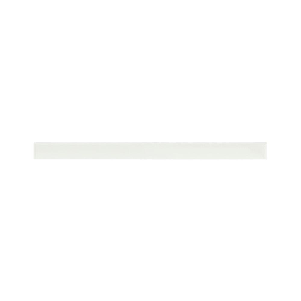 Home Decorators Collection Hampton Harbor 44 in. Marble Backsplash in White