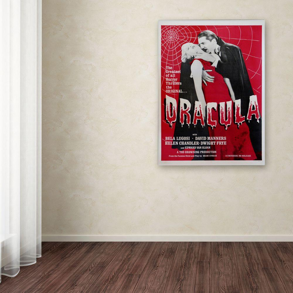 19 in. x 14 in. Dracula Canvas Art