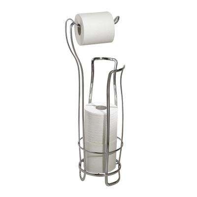 Axis Freestanding Toilet Paper Holder Plus in Chrome
