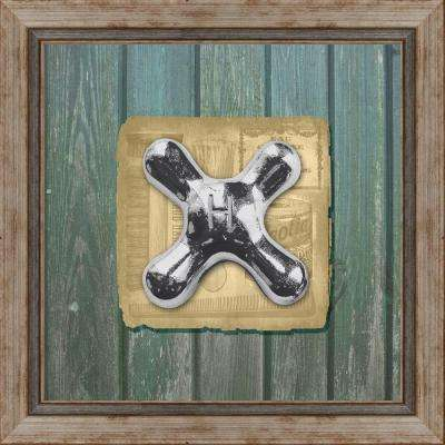 """15 in. x 15 in. """"Faucets A"""" Framed Wall Art"""