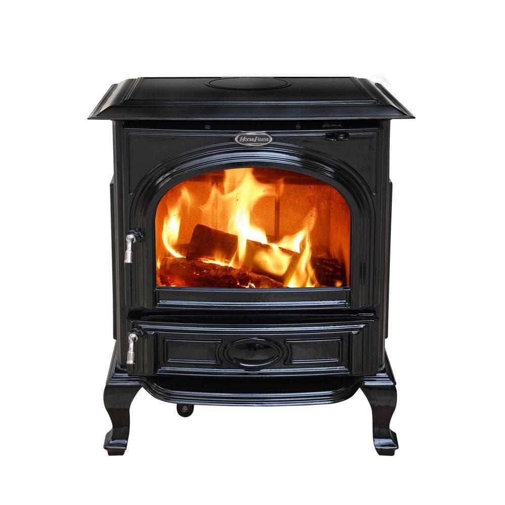 Hi Flame 1800 Sq Ft Appaloosa Enamel Medium Wood Burning