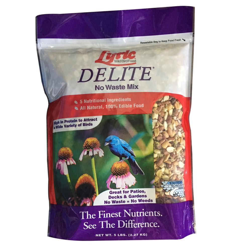 5 lbs. Delite High Protein No Waste Wild Bird Mix