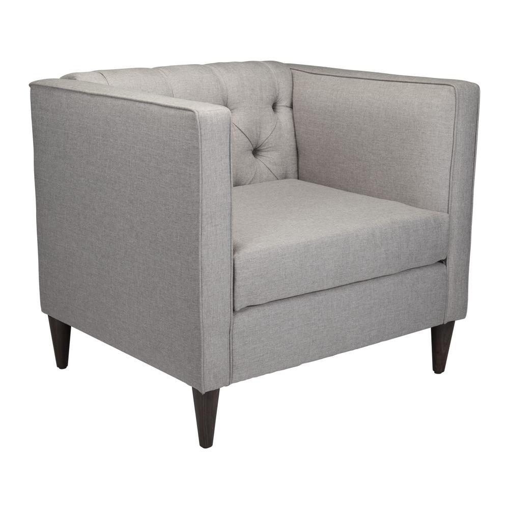 Grant Light Gray Arm Chair