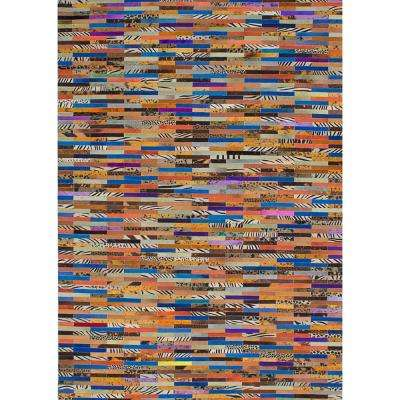 Multi 6 ft. x 8 ft. Indoor Area Rug