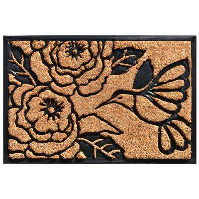24 in. x 36 in. Hummingbird Haven Door Mat