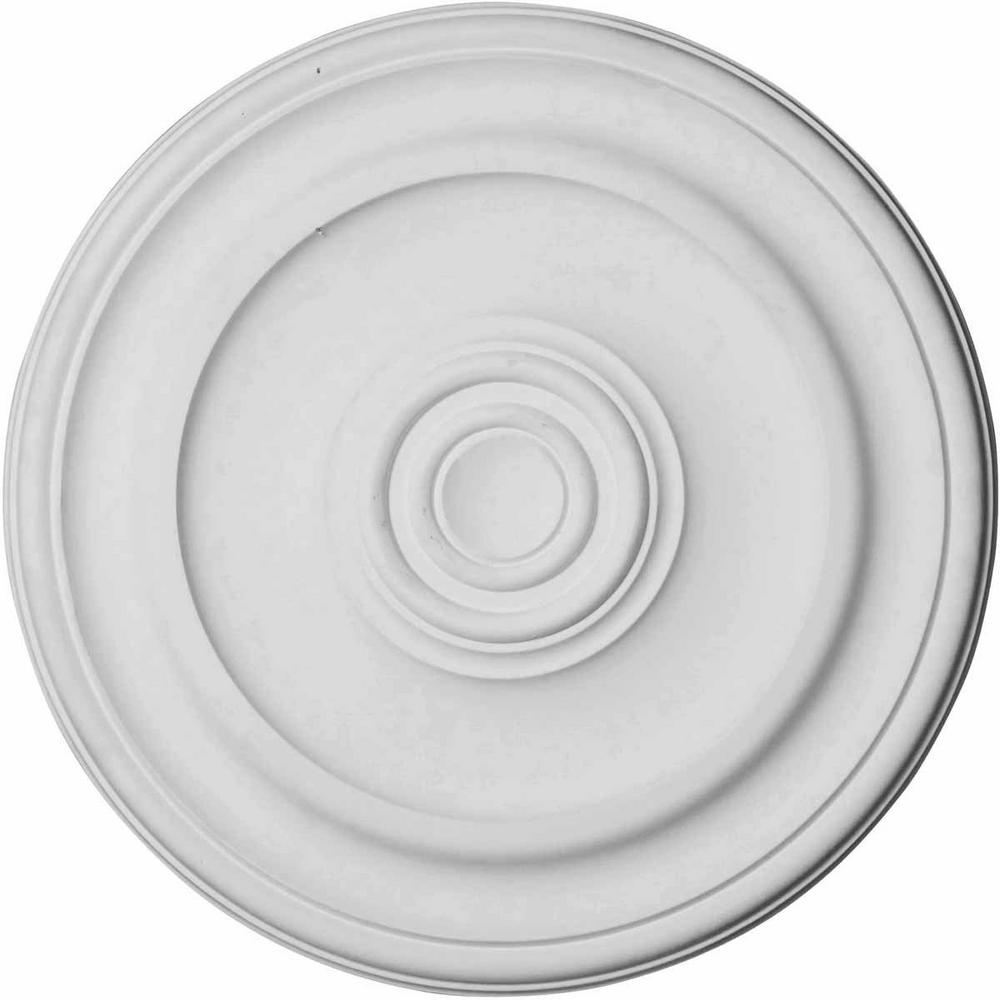 19-3/4 in. O.D. x 1-1/2 in. Kepler Traditional Ceiling Medallion
