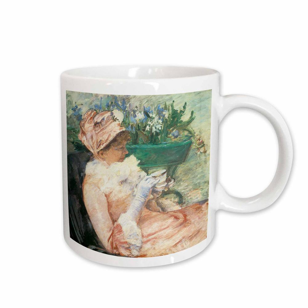 BLN Impressionist Fine Art Collection the Cup of Tea by Mary