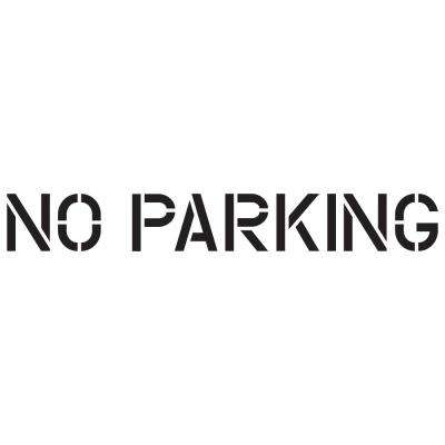 12 in. No Parking Stencil