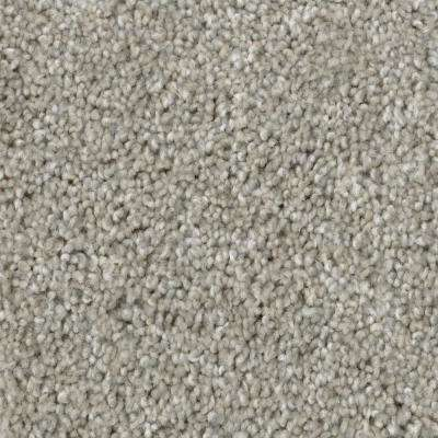 Carpet Sample – Groove - Color Gray Texture 8 in. x 8 in.