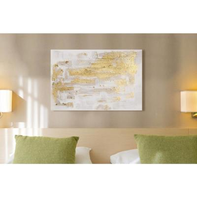 "36 in. x 24 in. 'Pure Love"" by ""Oliver Gal"" Printed Framed Canvas Wall Art"