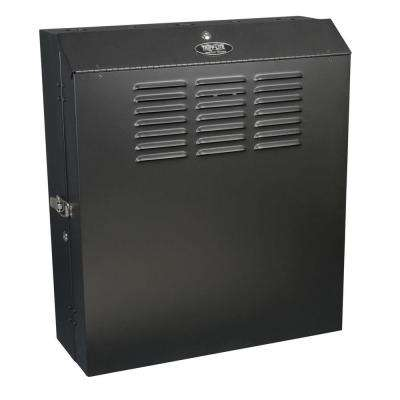 SmartRack 5U Low-Profile Vertical-Mount Switch-Depth Wall-Mount Rack Enclosure Cabinet