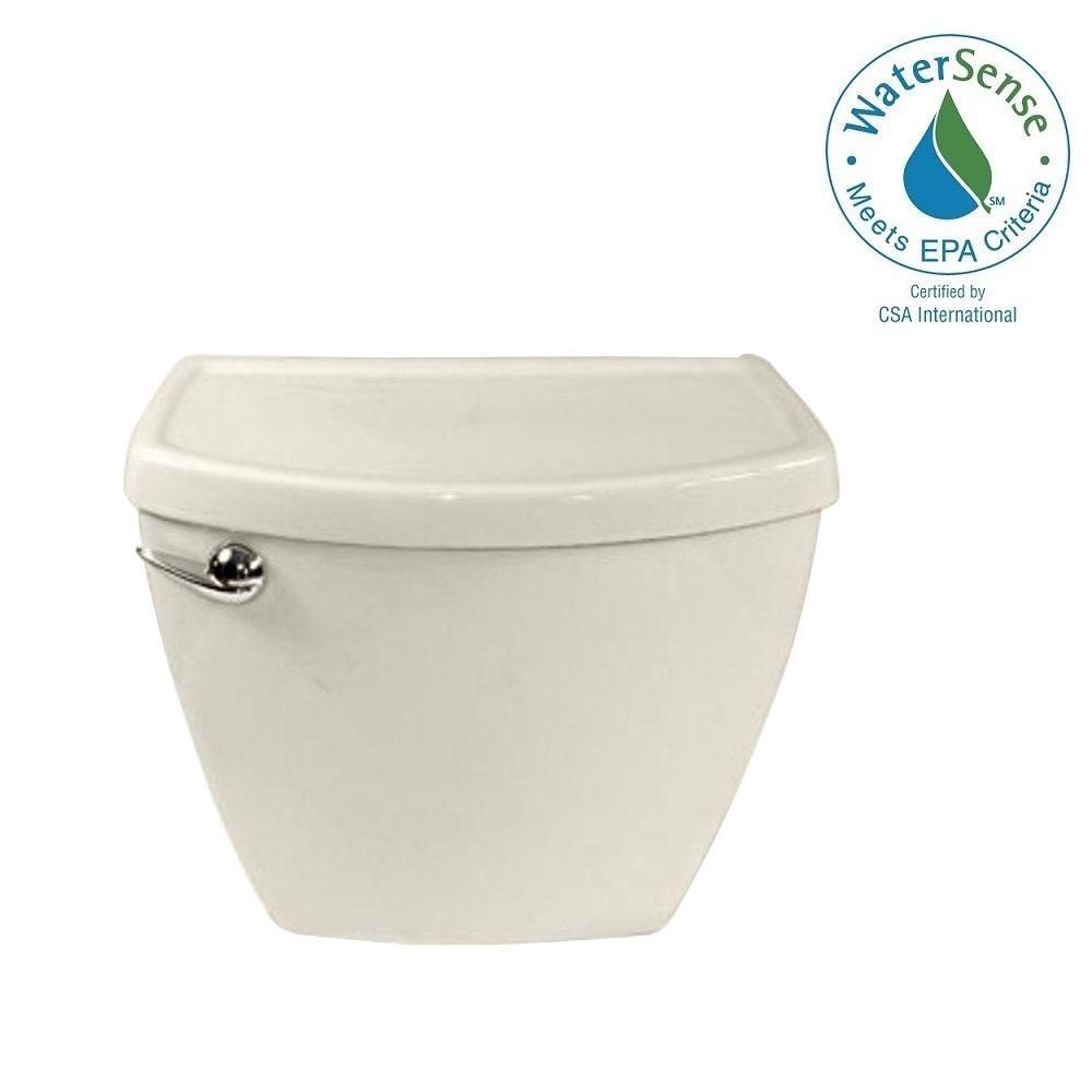 Cadet 3 1.28 GPF Single Flush Toilet Tank Only in Linen