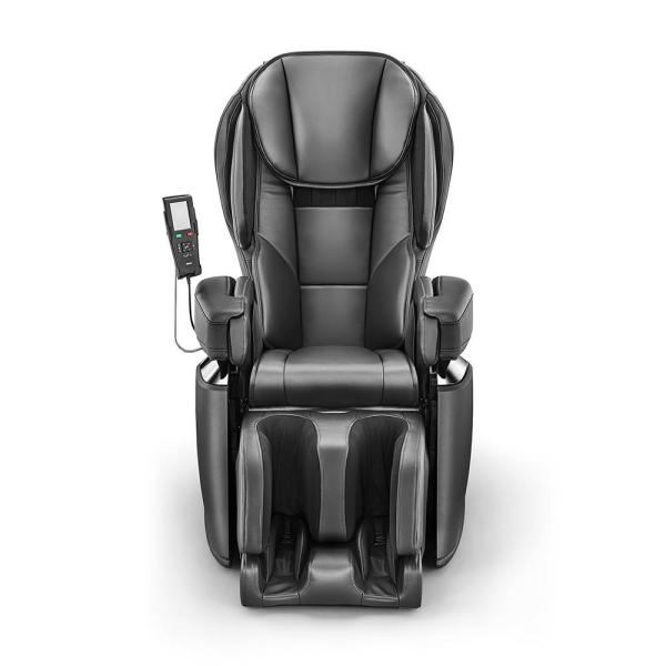 Synca Wellness Black Modern Synthetic Leather Premium Made in Japan 4D Massage Chair