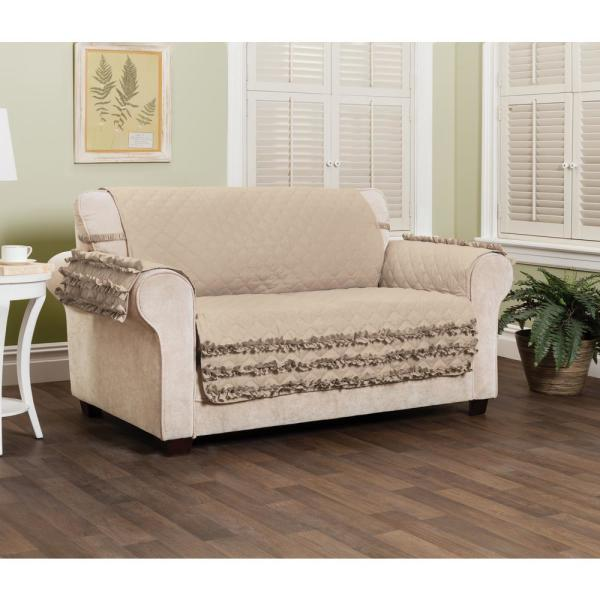 Claremont Ruffled Sofa Furniture