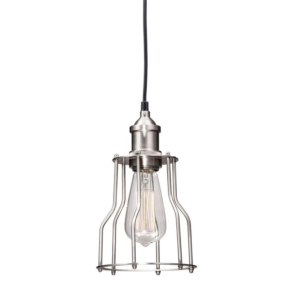 Adamite Nickel Ceiling Lamp